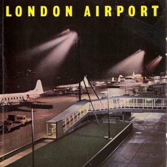 The London Airport Official Guide, 1956 – Illustrated by Feliks Topolski  and Cullen Gordon