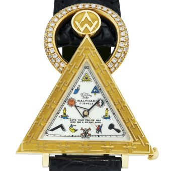 Masonic Watches : Vintage Brotherhood Timepieces