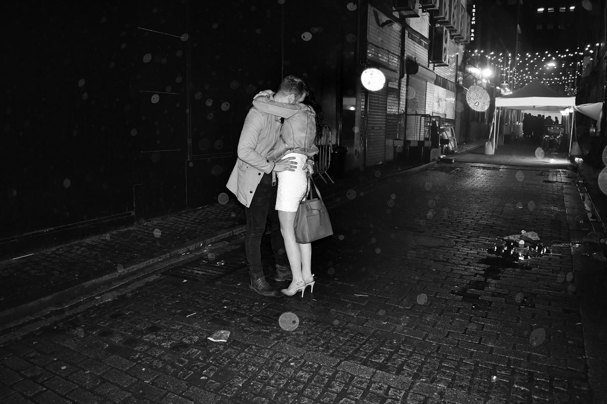 Brian Anderson, Glasgow, street photography, Young Love