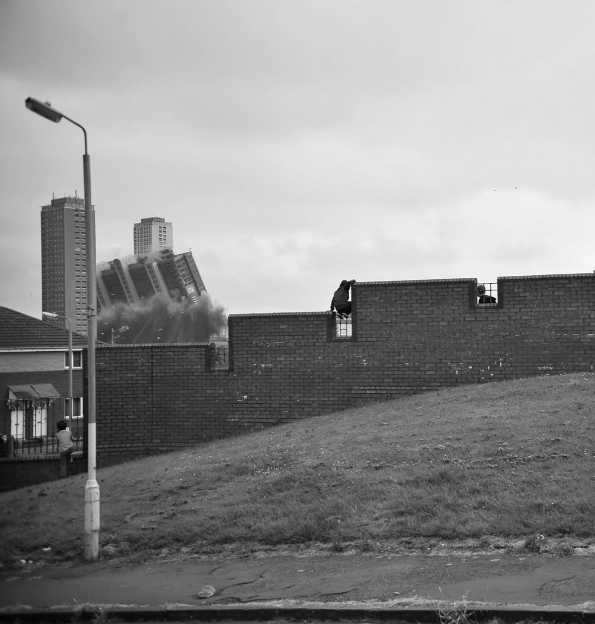 Brian Anderson, Glasgow, street photography, Last Days of Red Road