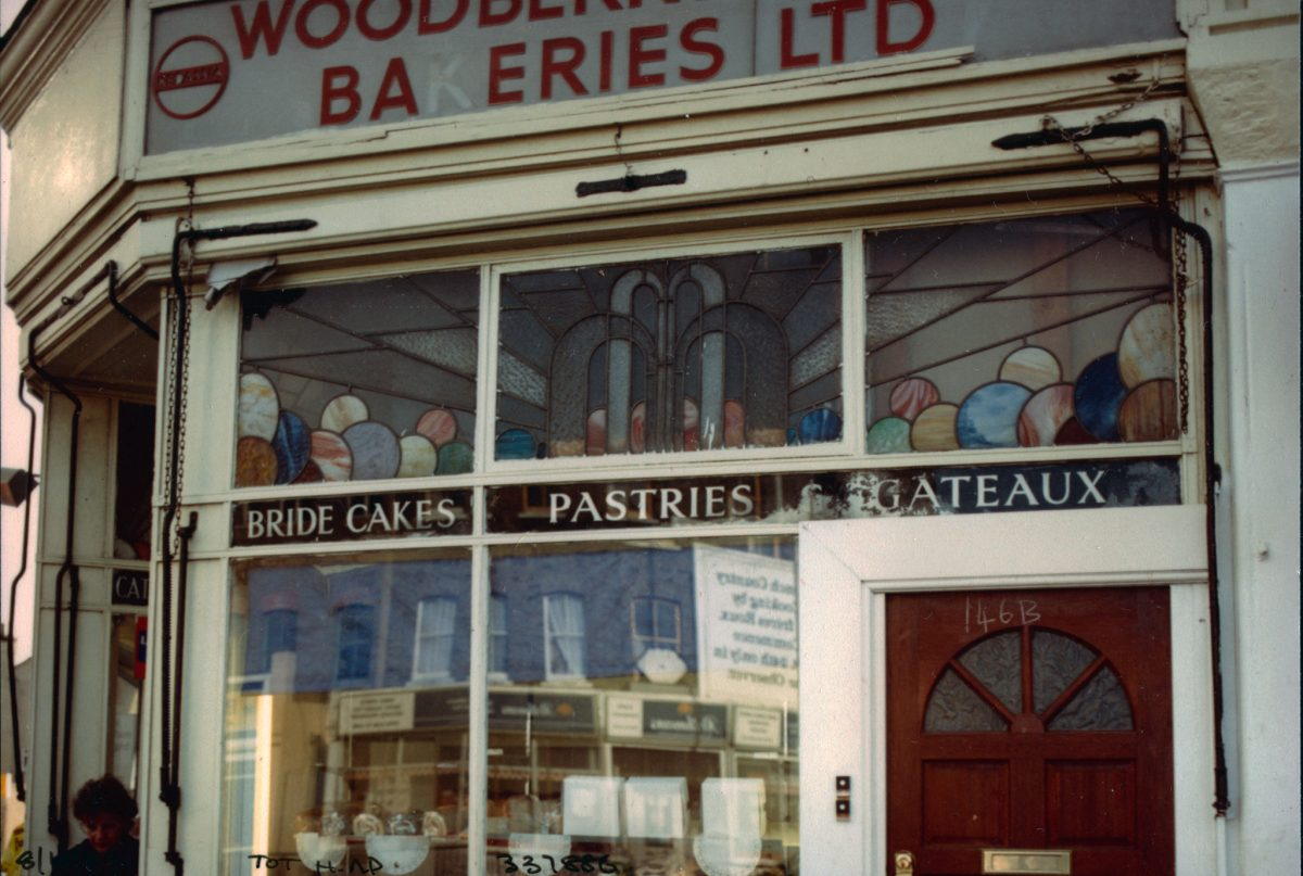 Bakers, High Rd, Crowland Rd, South Tottenham, Haringey, 1989
