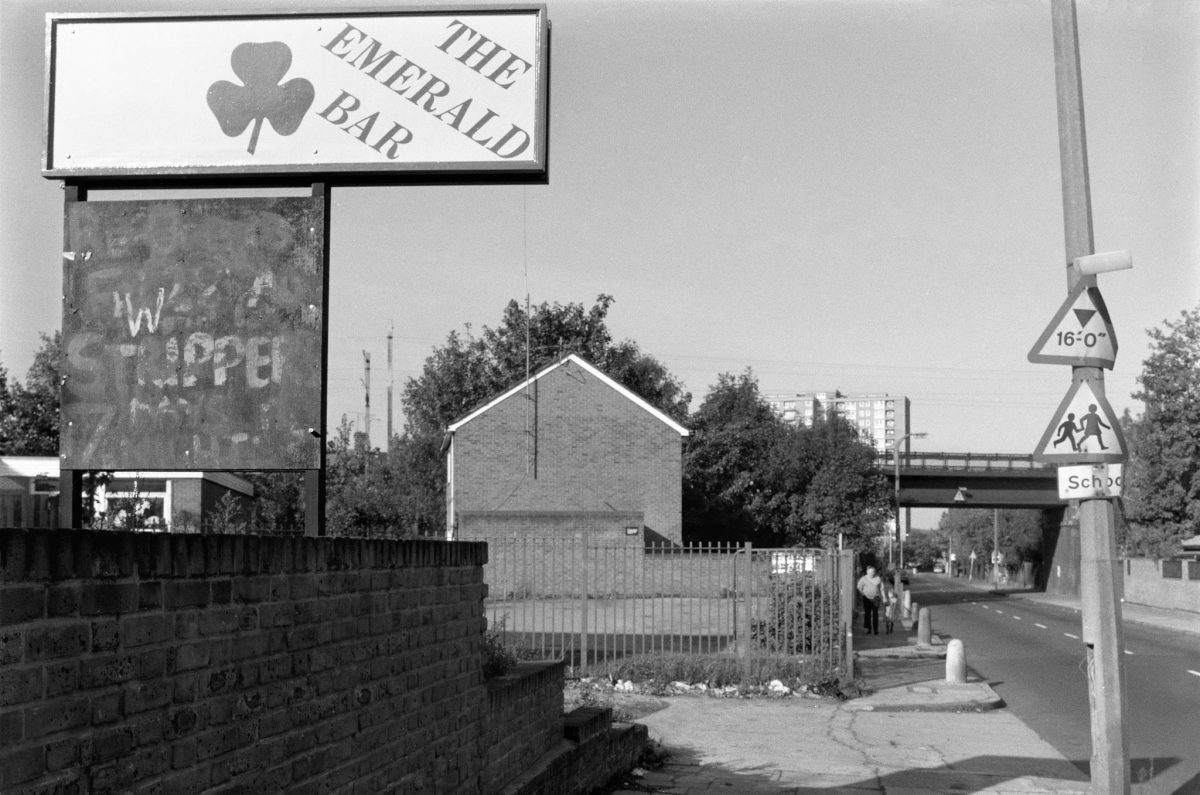 The Emerald Bar, St Ann's Rd, 1989 South Tottenham, Haringey, 1989