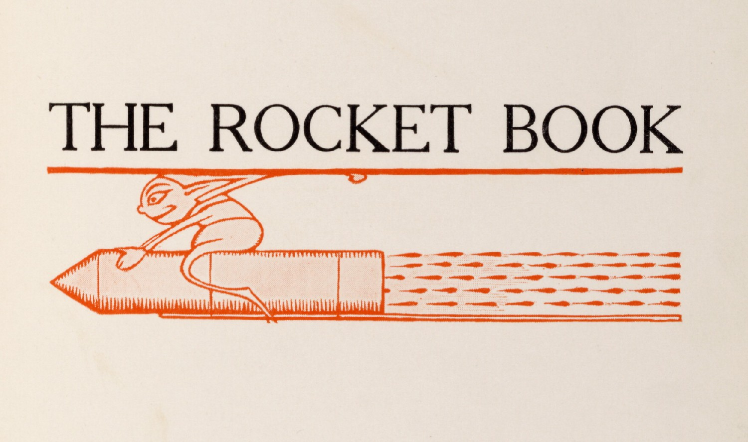 The Rocket Book 1912