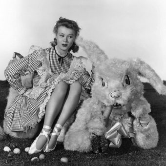 Vintage Hollywood Stars Dressed-Up as Easter Bunnies – And Why They Did It