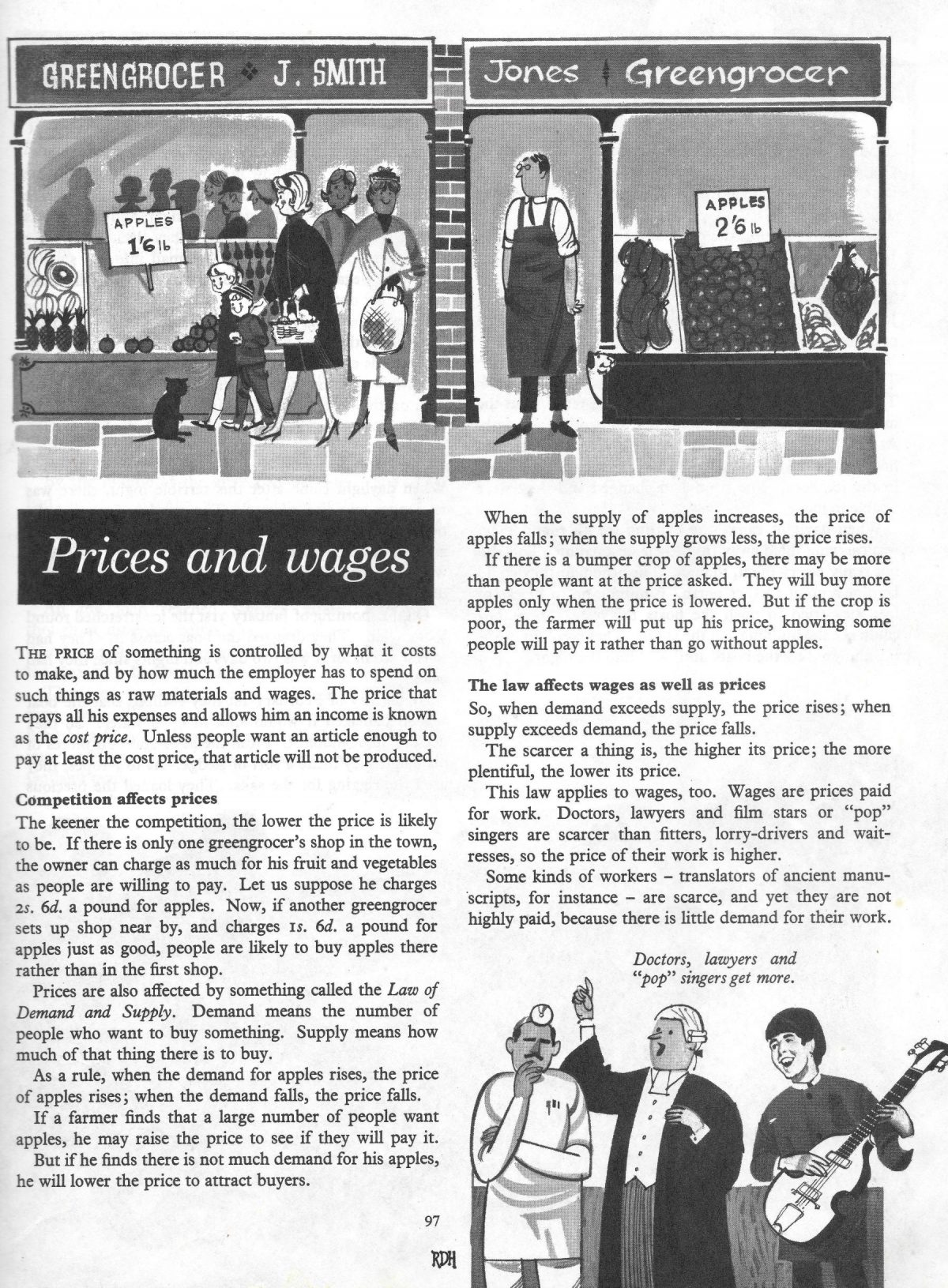 Finding Out Treasury, books, illustration, education, 1960s