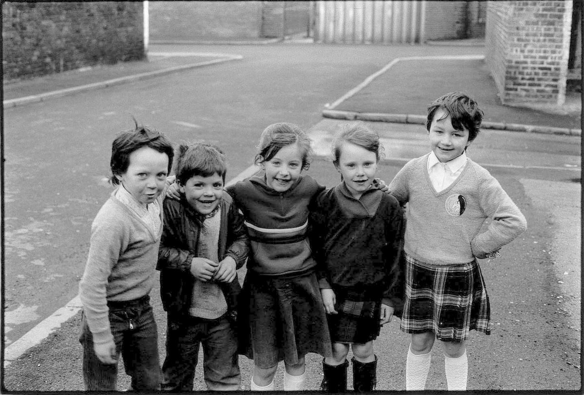 4 boys by T&L on Vauxhall Rd,early 80's