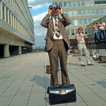 Plane Spotters At Gatwick Airport – London, 1983