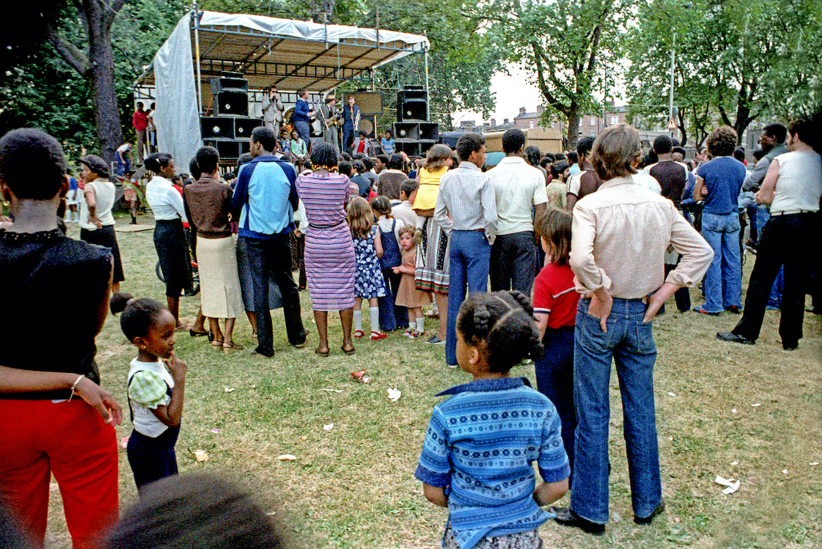 Stoke Newington Common Festival a 1979 Local band Bad Manners