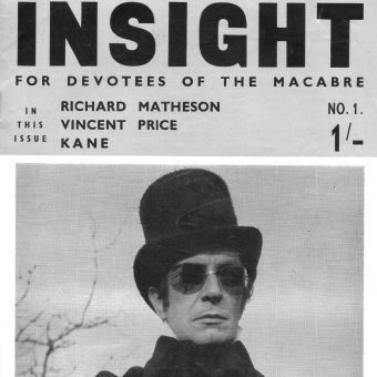 For Devotees of the Macabre: The First Two Issues of Cult Horror Magazine 'Insight' from 1965
