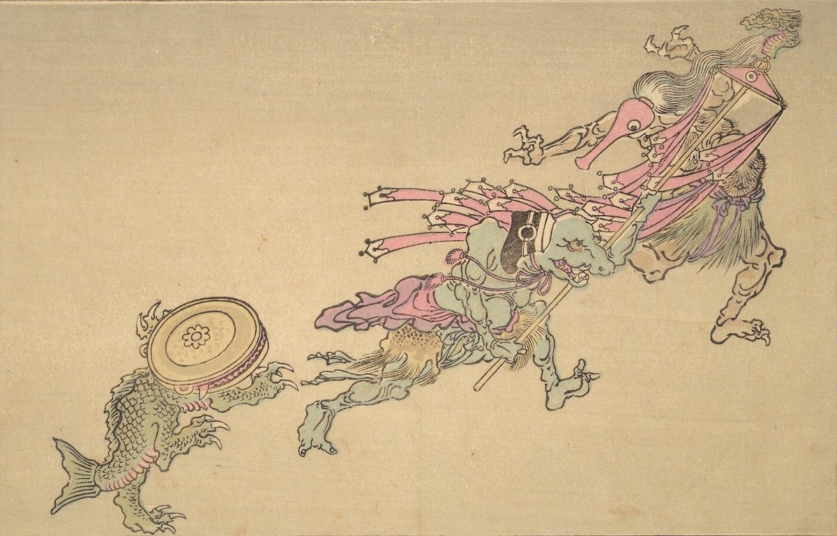 Kyōsai's Pictures of One Hundred Demons