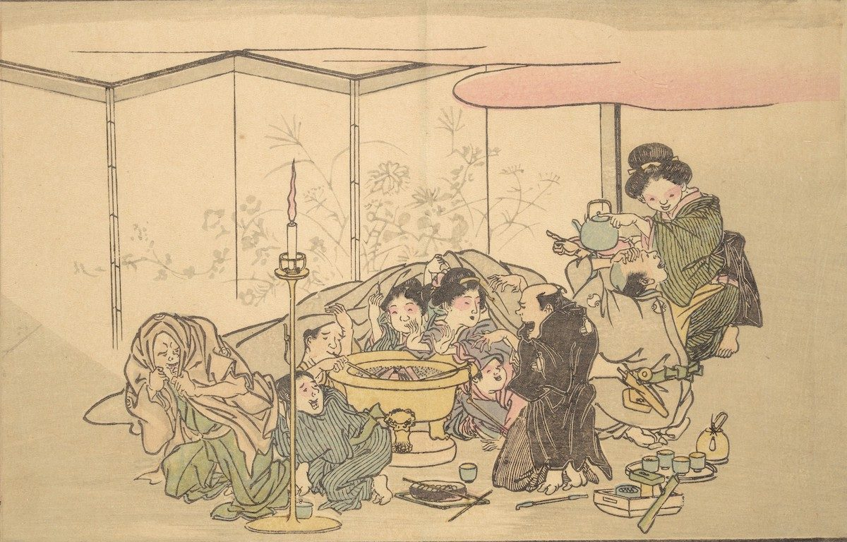 Kyōsai's Pictures of One Hundred Demons 1890