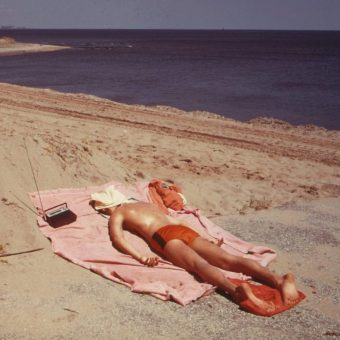Photographs of Staten Island and New York Harbor in 1973