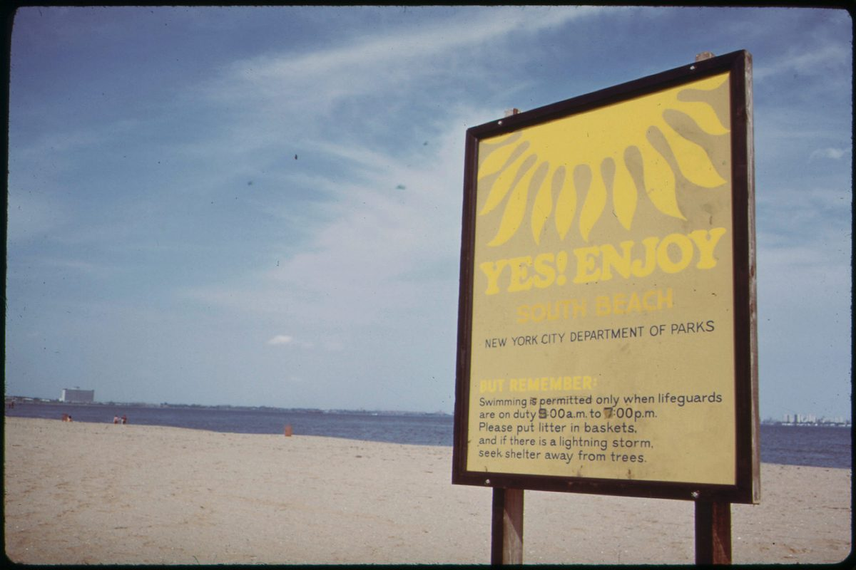 South Beach, Staten Island, Is Safe for Swimming
