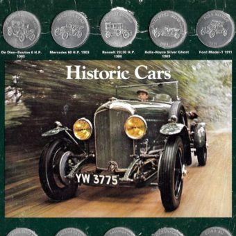Historic Cars: Collectible Shell Oil Coins for '70's Petrol Heads