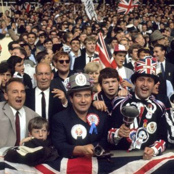 England vs Germany 1966 – The Crowd In Colour Photos