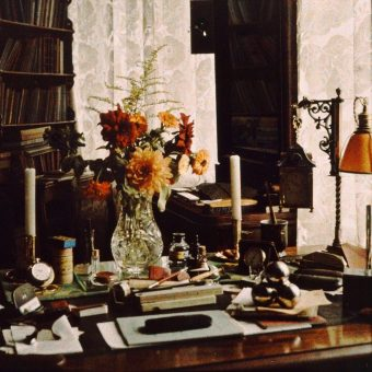 Painting Flowers With Autochrome Photographs In The 1920s