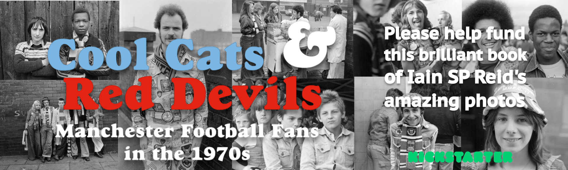Cool Cats and Red Devils book banner