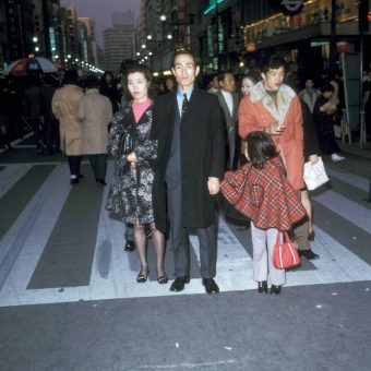 Shopping And Eating in Tokyo 1972