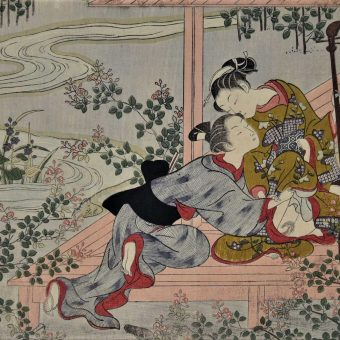 Before Dirty Postcards There Was Shunga: Japanese Erotic Prints (NSFW)