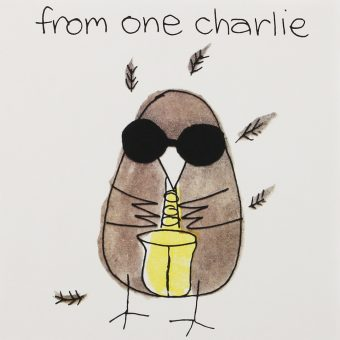 Charlie Watts' Ode to a Highflying Bird – An Illustrated Tribute to Charlie Parker – 1960