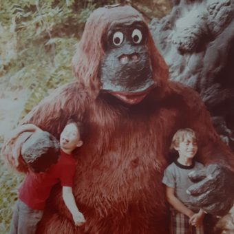 Snapshots of a Family Trip to Michigan's Prehistoric Forest in 1979