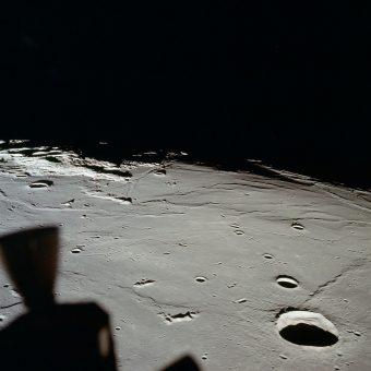 Sitting in a Tin Can: Amazing Lunar Photographs from the Apollo Space Missions