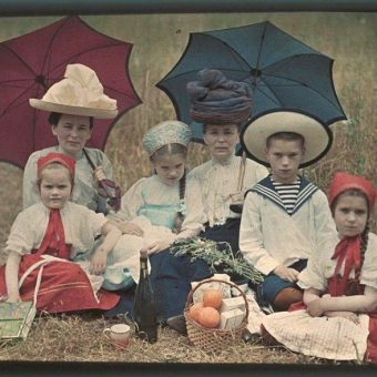 Outstanding Color Autochromes from Pre-Revolutionary Russia