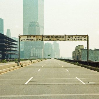 Photographs Of NYC's Miller Highway May 1979