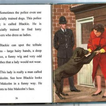 Topsy And Tim Meet the Police: A Child's Book At Spoof Time