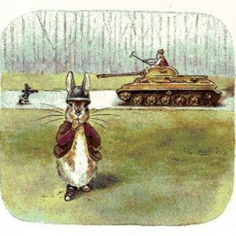 Peter Rabbit – Tank Killer: When Sven Hassel Met Beatrix Potter