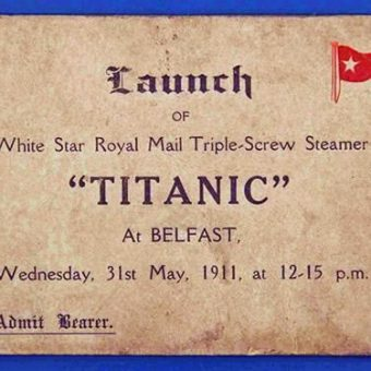 The Titanic: 100 Years Of Films And Photos